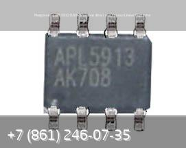 Микросхема APL5913 0.8V Reference Ultra Low Dropout Linear Regulator, стоимость: 200р.